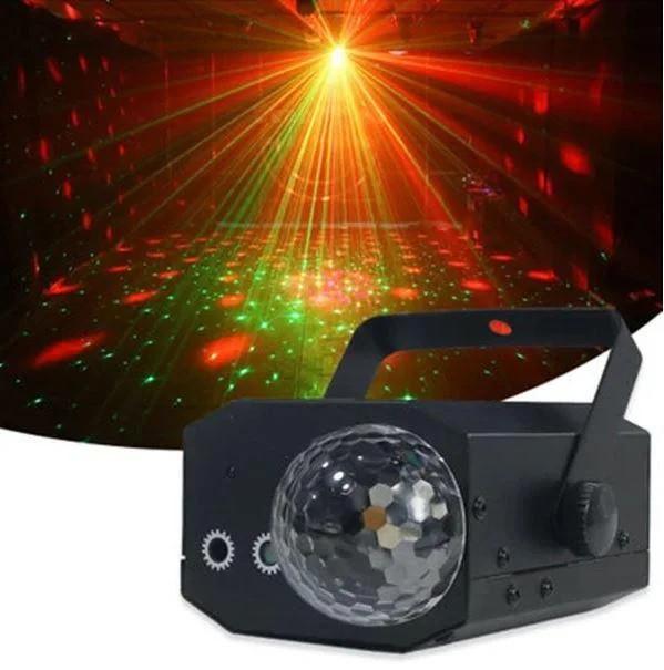 Лазерный проектор с шаром