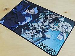 Коврик для мыши игровая поврехность Rail аниме Ghost in the shell