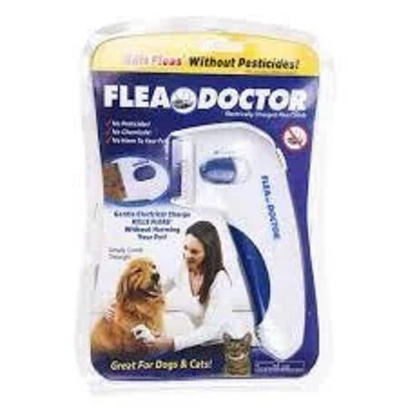Расческа для вычесывания блох для собак FLEA DOCTOR