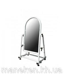 Зеркало М обувное 25см(металлик)