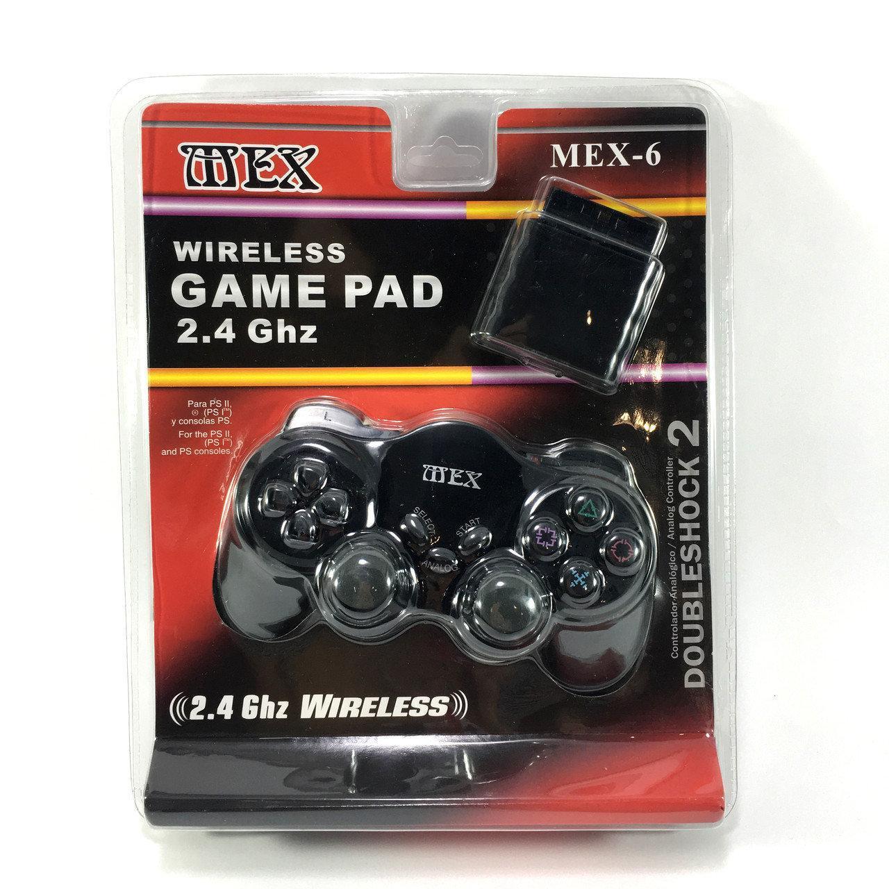 Джойстик PS2 беспроводной MEX-6 sale