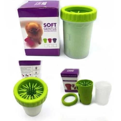 Стакан для мытья лап питомцам Soft pet foot cleaner sale