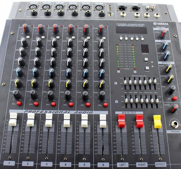 Аудио микшер Mixer BT 608D c bluetooth sale