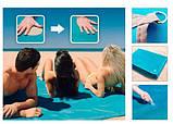 Пляжная Подстилка Анти Песок Sand Leakage Beach Mat Пляжный Коврик Коврик Для Пикника Размер 2 х 2 Метра, фото 5