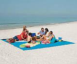 Пляжная Подстилка Анти Песок Sand Leakage Beach Mat Пляжный Коврик Коврик Для Пикника Размер 2 х 2 Метра, фото 8