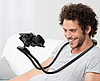 Держатель для телефона на шею 360 градусов вращения гибкий селфи