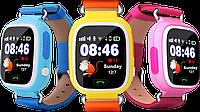 Смарт-часы детские UWatch Q90 GPS контроль звонки сообщения SOS Wi-Fi