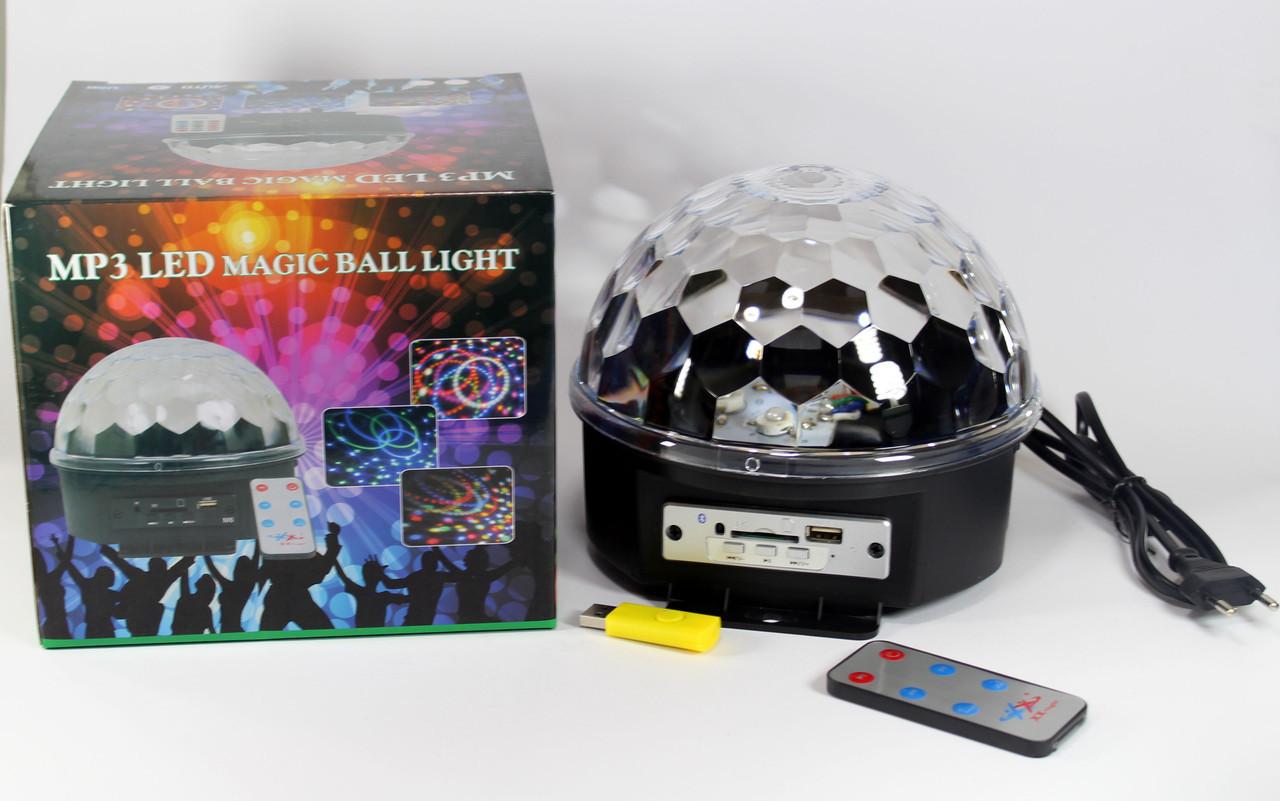 Диско Шар с Bluetooth Laser XXB 01/ M6 BT sale