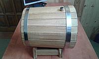 Дубовые бочки от производителя на 12- 15 л, фото 1