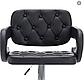 """Барний стілець HOKER VIA з Підставкою для ніг ЧОРНИЙ (120 кг навантаження)""""Барний стілець, фото 3"""