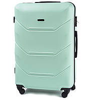 Большой дорожный чемодан wings 147 мятный размер L, фото 1