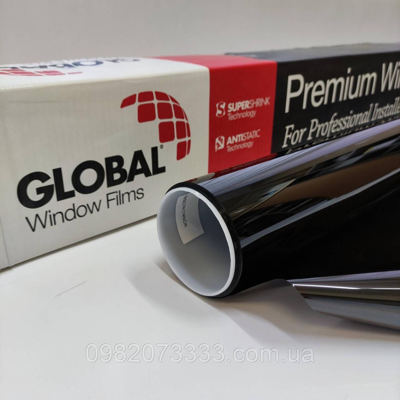 Тонувальна плівка HPI CH 10 ширина 1,524 (США) Global автомобільна. Тонування авто. Глобал (ціна за кв. м)