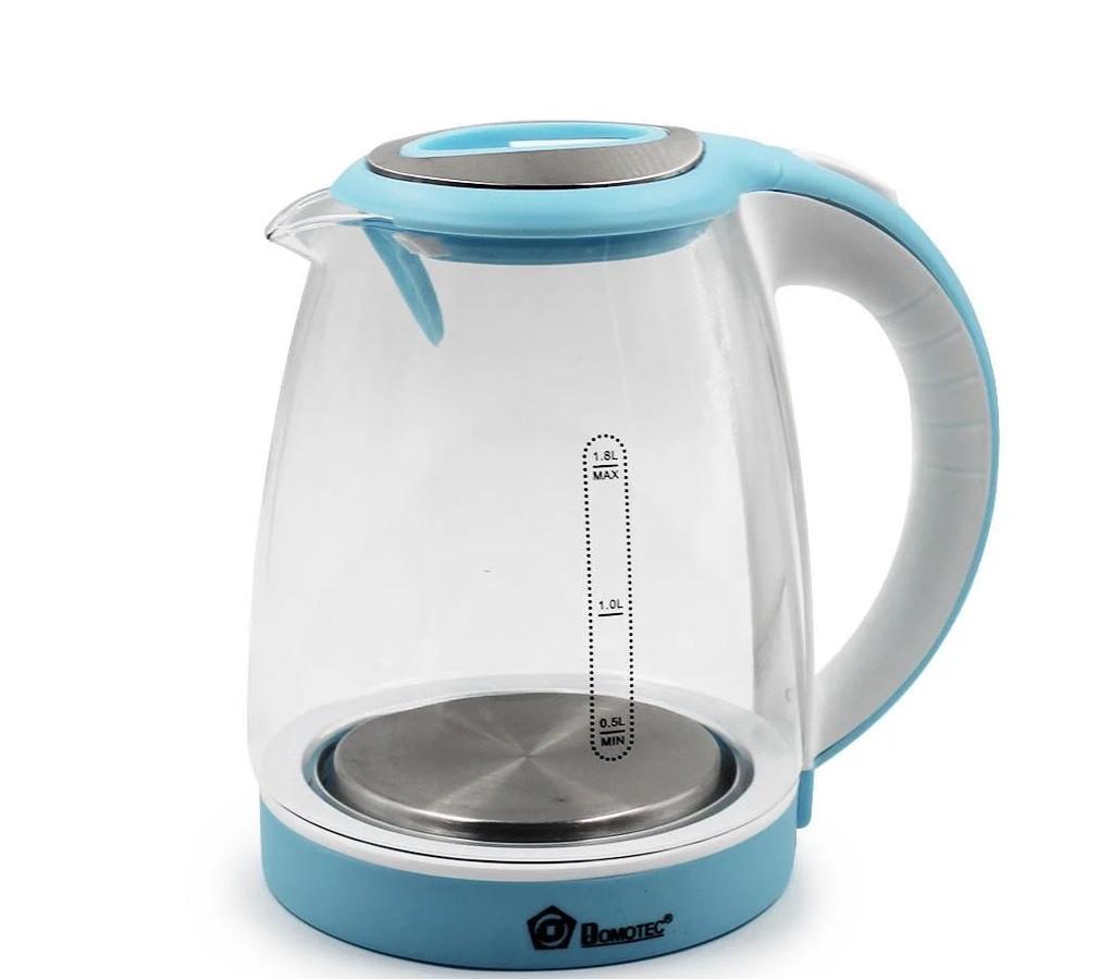 Чайник MS 8111 Синий  стекло