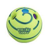 Игрушка Для Собак Хихикающий Мяч Wobble Wag Giggle Мячик, фото 2