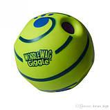 Игрушка Для Собак Хихикающий Мяч Wobble Wag Giggle Мячик, фото 4