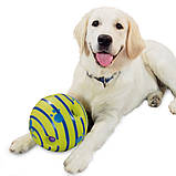 Игрушка Для Собак Хихикающий Мяч Wobble Wag Giggle Мячик, фото 6
