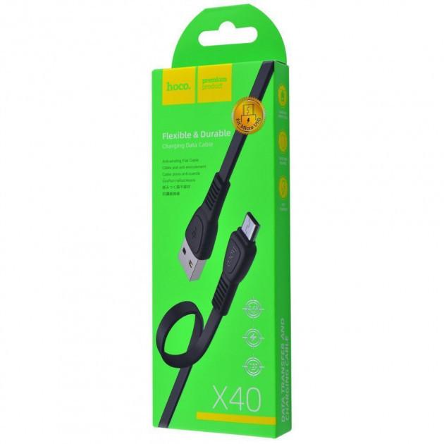 Кабель Hoco X40 Noah Micro USB Cable (1m)