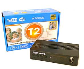 Тюнер DVB-T2 U006 METAL с поддержкой wifi адаптера (с экраном) top
