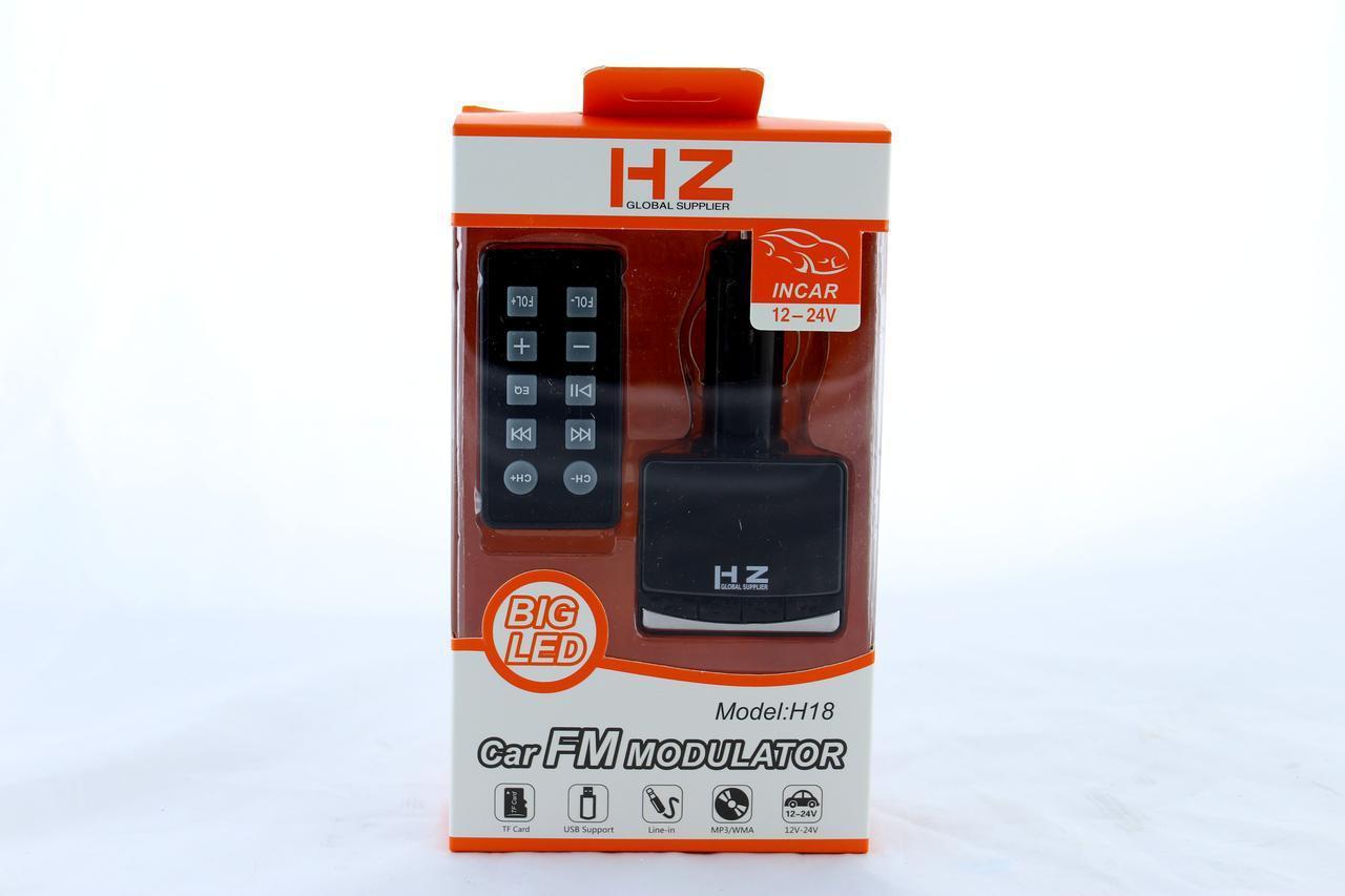 Автомобильный трансмиттер FM-модулятор   MOD. H18