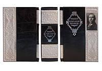 Артур Конан Дойл  Полное собрание произведений о Шерлрке  Холмсе - элитная кожаная подарочная книга