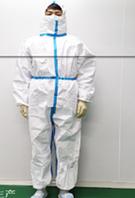 """""""Защитный костюм стерилизованный со скотчем синим размеры 165-170-175-180-185"""" sale"""