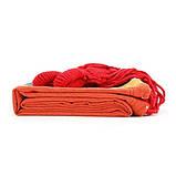 Гамак гавайский Оранжевый тканевый подвесной, фото 2