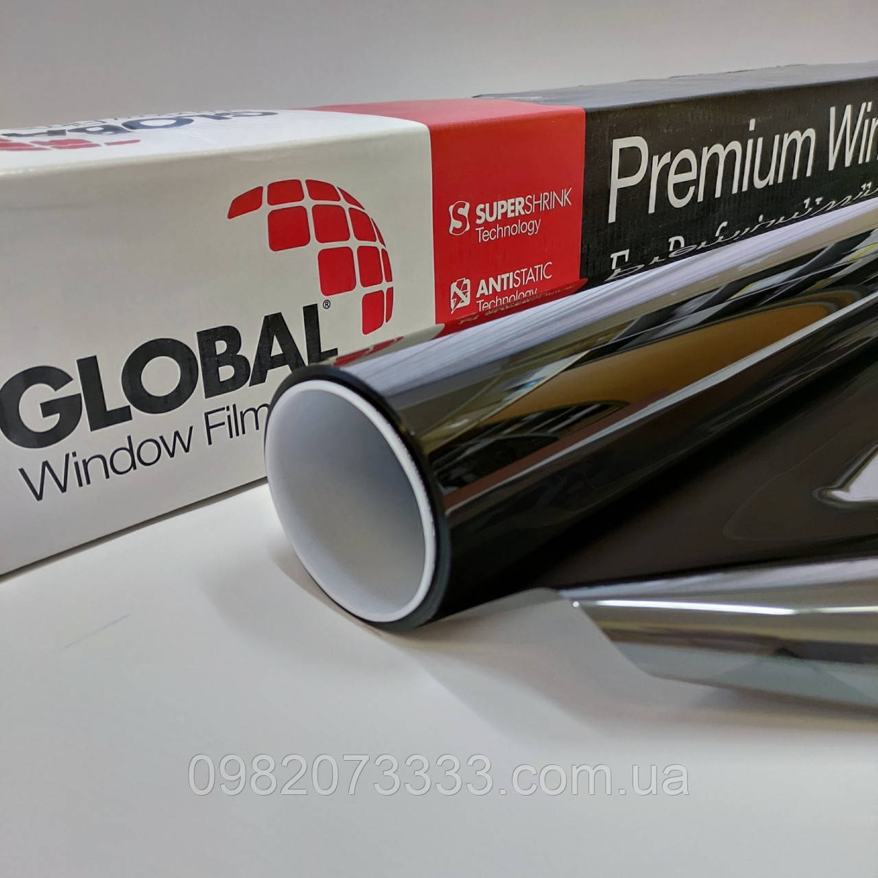 Автомобільна плівка HPI CH 15 ширина 1,524 (США) Global тонувальна. Тонування авто. Глобал (ціна за кв. м)