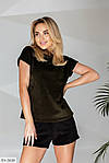 Женский велюровый костюм с шортами, фото 9
