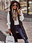 Женская удлиненная жилетка, фото 4