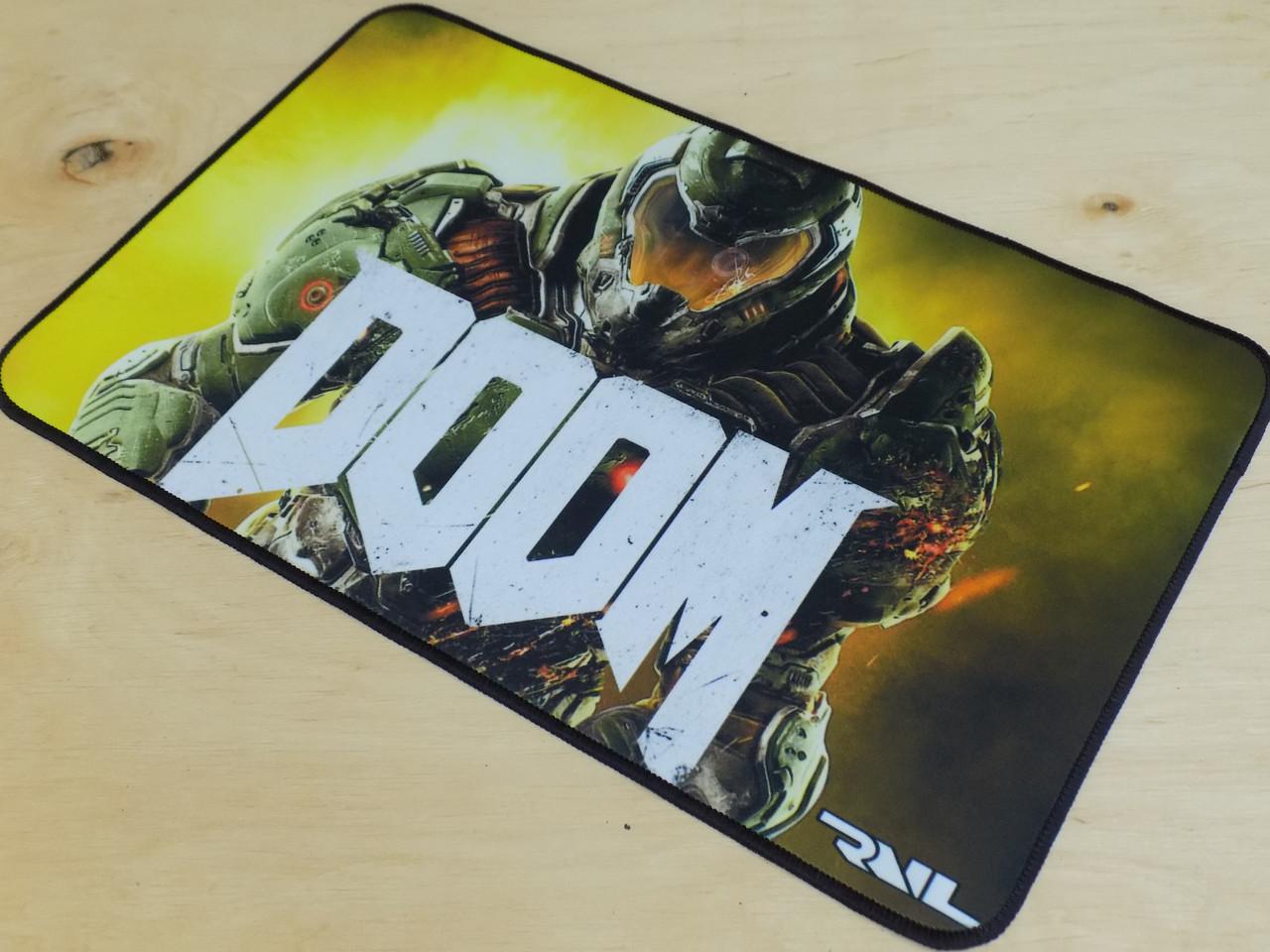 Игровой коврик для мышки игровая поврехность RAIL DOOM
