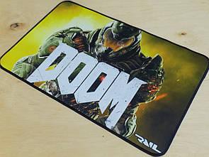 Ігровий килимок для мишки ігрова поверхня RAIL DOOM