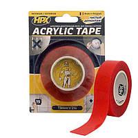 ACRYLIC TAPE - 19мм x 2м, акриловая прозрачная двухсторонняя лента  HPX (силиконовый скотч)