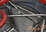 Медогонка 4-х Рамочная Нержавеющая, Поворотная. Кассеты Нержавеющие. Ротор Нержавеющий, фото 3