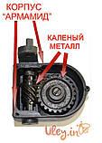 Медогонка Алюмоцинковая, с поворотом кассет 4-х рамочная под рамку «РУТА 230 мм», фото 4