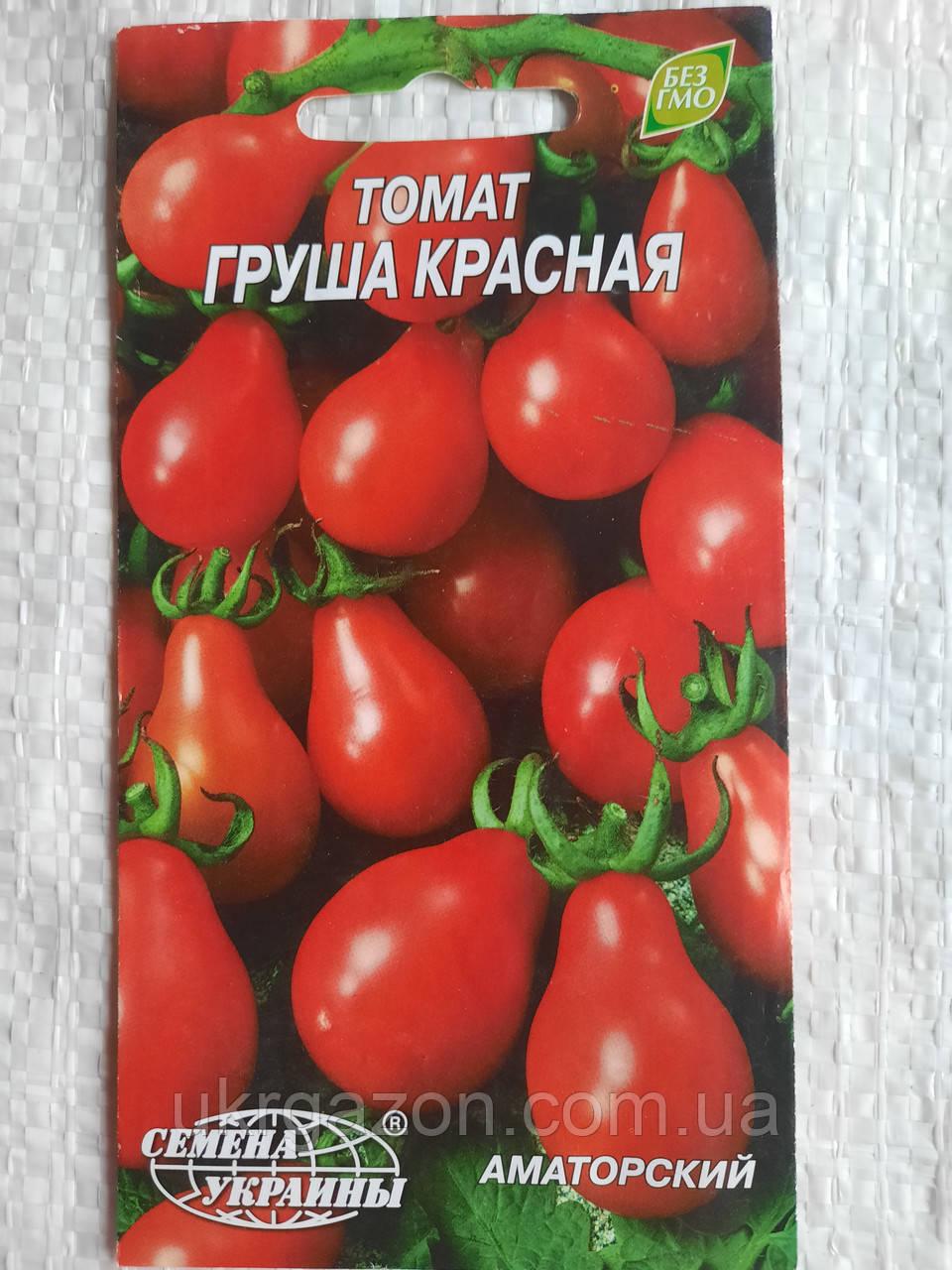 Томат ГРУША КРАСНАЯ 0,2г (Семена Украины)