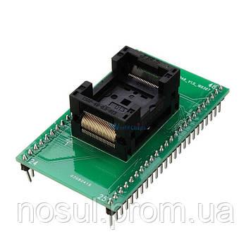Переходник TSOP48 TSOP48-40-32 панелька сокетка для программатора RT809F RT809H XELTEK TSOP48 к DIP48