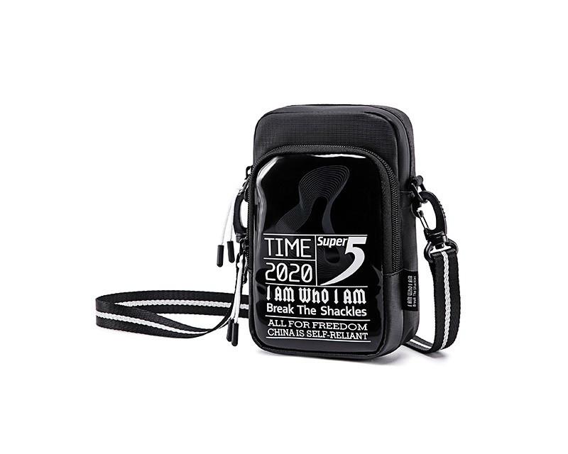 Небольшая сумочка через плечо Super5 K00110, с двумя отделениями, из водоотталкивающей ткани, 1л