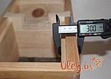 Нуклеус деревянный, на 4 рамки, фото 8