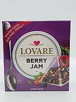 Бленд чая плодово-ягодного и цветочного Lovare Berry Jam в пирамидках 15*2г
