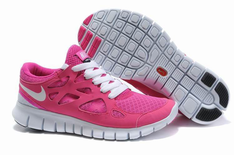 2da6bf63 Кроссовки женские беговые Nike Free Run Plus 2 (в стиле найк фри ран)  розовые