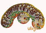 Этикетка «Мед натуральный» диаметр 11см (КРУГЛАЯ самоклейка) — 100шт., фото 3
