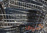 Медогонка 16-ти рамочная «ЕВРО» Медогонка, с поворотом кассет, нержавеющая (ротор Н/Ж, с крышкой), фото 5