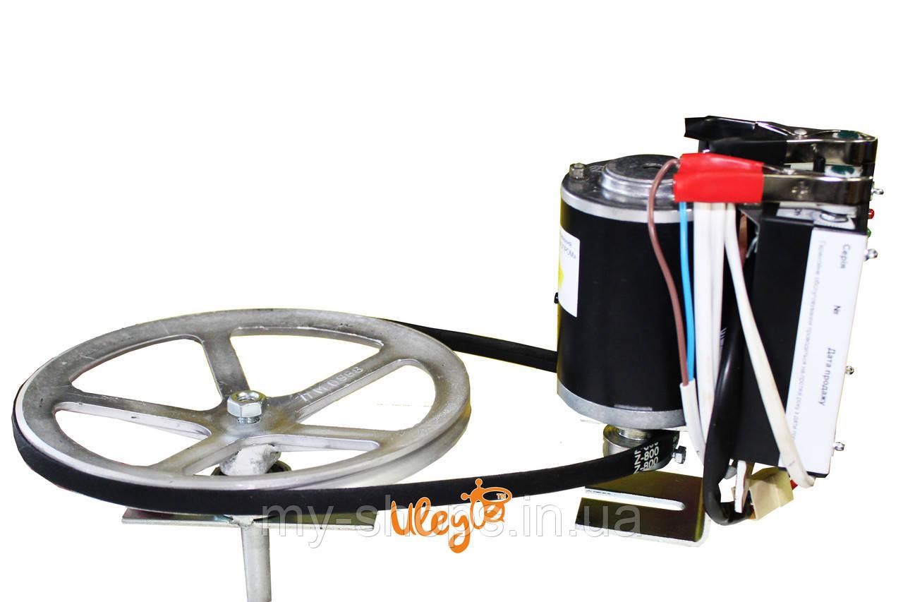 Электро-Привод ременной для медогонки — 12 Вольт
