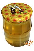 Крышка для меда на стеклянную банку СОТА №2, Твист-офф 82мм