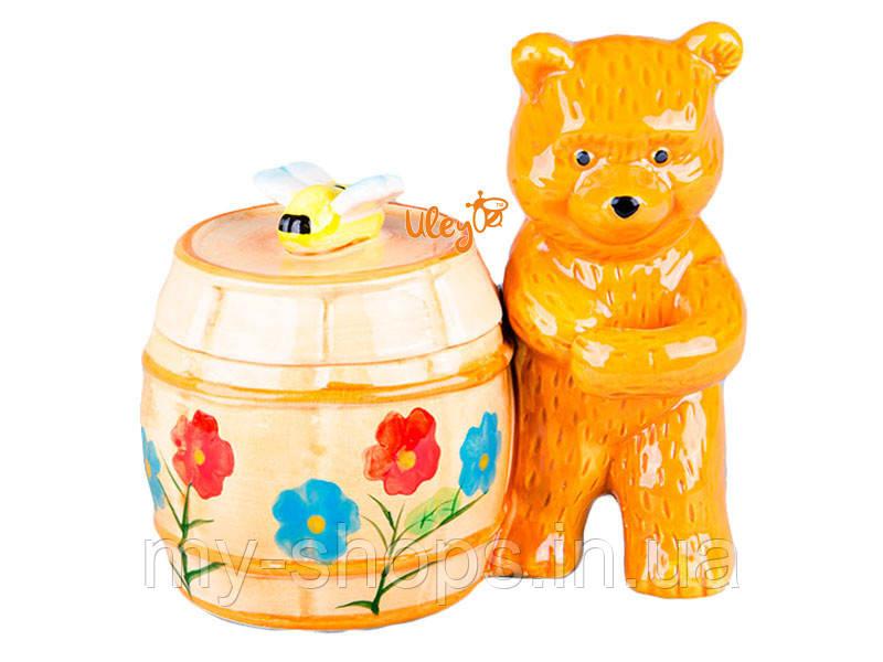 Медовница «Боченок с мишкой» (564)
