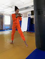 Костюм для похудения, бега, зала, фитнеса, мма и эстра быстрой женский весогоночный Weight Killer ORANGE BASE