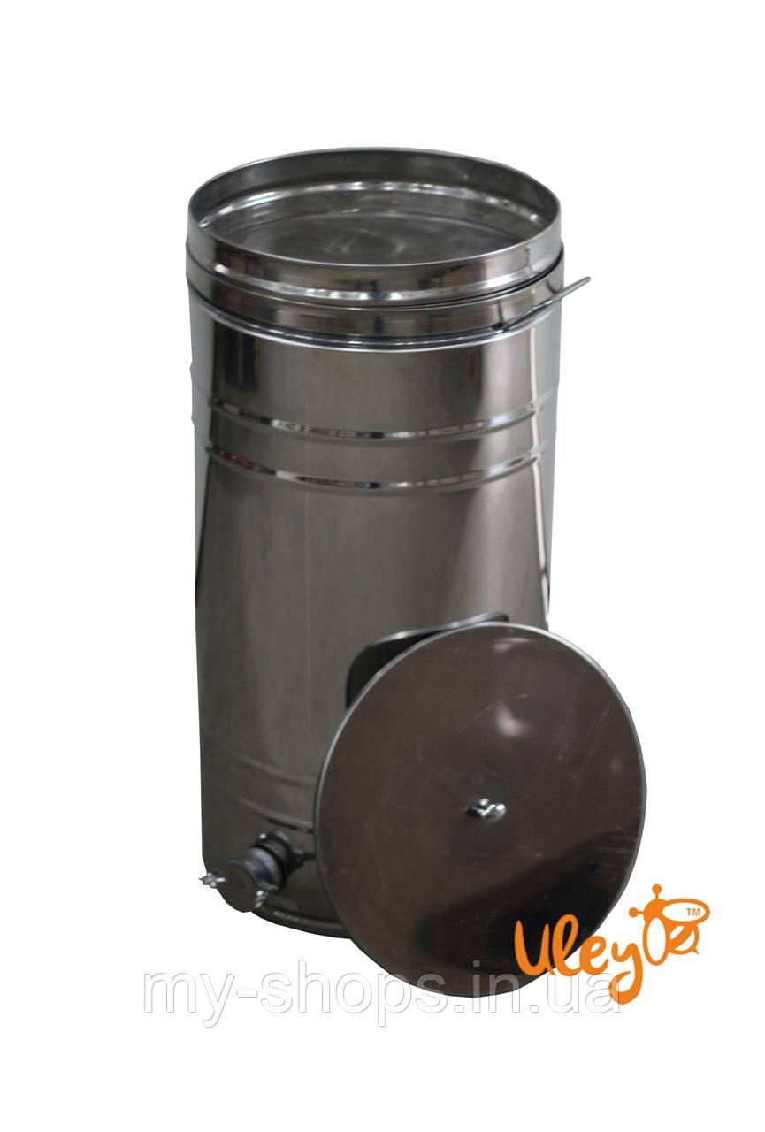 Бак відстійник для меду з нержавіючим фільтром 70 л