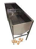 Стол – воскотопка, с крышкой – 1,5 метра, толщина 0,8 мм, фото 4