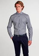 Мужская рубашка Eterna Голубой 38