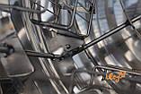"""Радиально – хордиальная медогонка 4 Дадан 20 Рута 20 Полурамки """"ПЧЕЛКА"""" (алюминиевый кран), фото 5"""